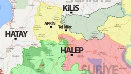 Tel Rıfat nerede, neden önemli? Tel Rıfat'ın harita üzerindeki konumu!