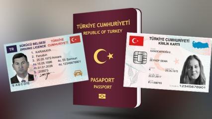 Pasaport, ehliyet ve kimlik kartı nasıl alınır? Nüfus Müdürlüğü randevu işlem...