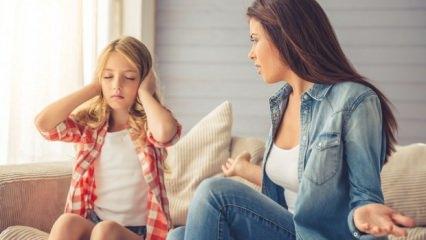 Çocuklara 'Hayır' demenin yöntemleri