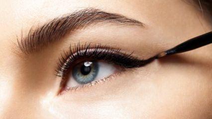 Eyeliner çekme yöntemleri nelerdir?