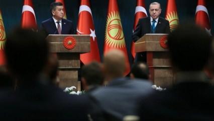 Kırgızistan FETÖ konusunda sessizliğini bozdu
