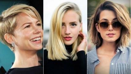 Kısa saç kimlere yakışır?
