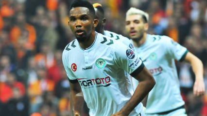 Konyaspor'dan o iddialara yanıt! 'Eto'o çok üzgün'