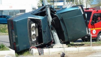 Yozgat'ta korkunç kaza: 2 ölü 1 yaralı