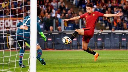 Cengiz Ünder attı Roma kazandı!