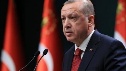 Erdoğan'dan 23 Nisan mesajı!