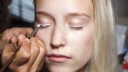 Göz makyajında yeni trend: Nude eyeliner
