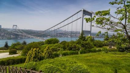 İstanbul'da gezilecek park ve bahçeler