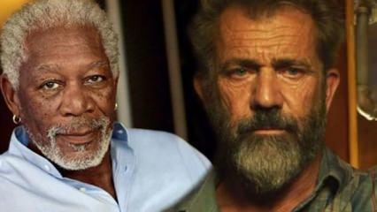 Morgan Freeman ile Mel Gibson Kerbela'da buluşuyor