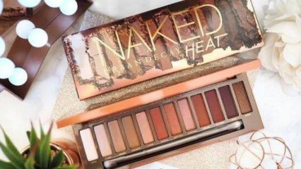 Urban Decay Naked Petite Heat palet incelemesi