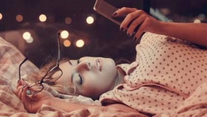 Uyumadan önce telefon kullanmak nelere neden olur?