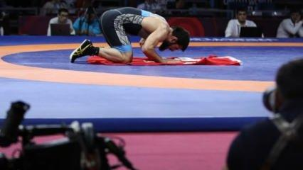 Avrupa Güreş Şampiyonası'nda çifte zafer!