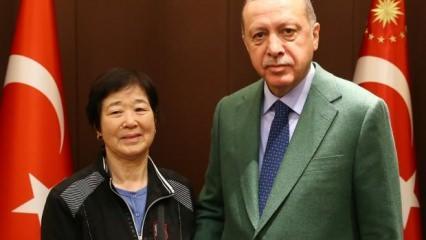 Cumhurbaşkanı Erdoğan 'Ayla'yı kabul etti