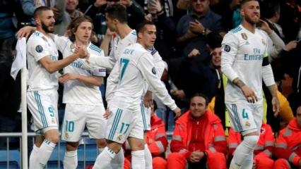 Devler Ligi'nde ilk finalist Real Madrid