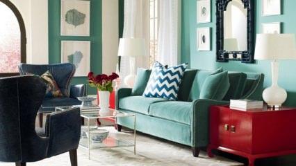 Dekorasyonda büyük yastıklı koltuk trendi