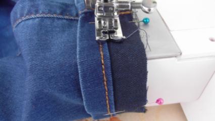 Evde pantolon paçası nasıl yapılır?