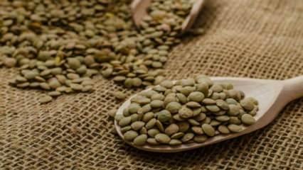 Yeşil mercimeğin faydaları nelerdir?