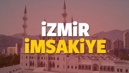 2018 İzmir imsakiye sahur ve iftar vakti! Diyanet namaz saatleri...