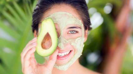 Avokadoyla cilt maskesi nasıl yapılır?