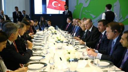 Erdoğan'dan 18 trilyon $'lık buluşma