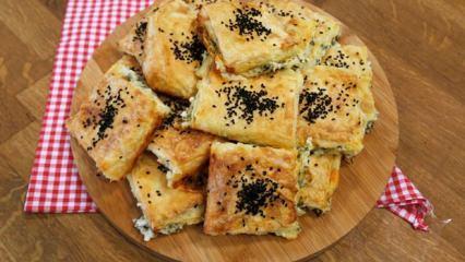 Evde kolay Ege böreği nasıl yapılır?