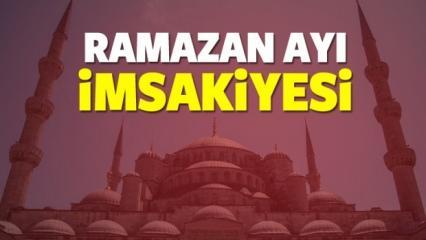 18 Mayıs Ramazan ayı tüm illerin imsakiyesi! İftara kaç saat kaldı...