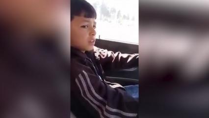 Çocuğun babasıyla rekor kıran sohbeti