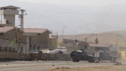 Jandarma karakoluna roketli saldırı