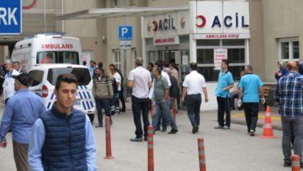 Ümraniye Devlet Hastanesi önünde dehşet anları!