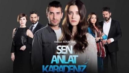 Youtube'dan Sen Anlat Karadeniz dizisine ödül!