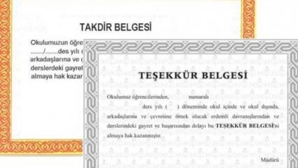 2018 Takdir-Teşekkür puanı nasıl hesaplanır? e-Okul giriş sayfası...