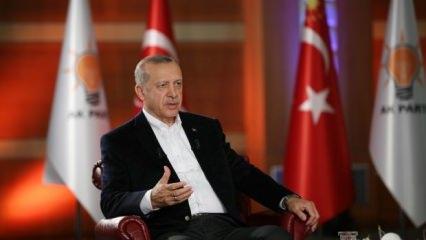 Erdoğan: Kimlerle kontakta olduğunuzu biliyoruz
