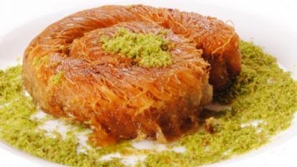 Özel lezzetlerden Kadayıf nasıl yapılır? Enfes Kadayıf Tarifi...