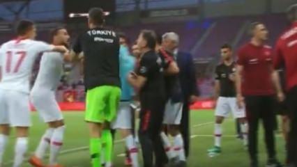 Milli maçta şok! Cenk Tosun çılgına döndü
