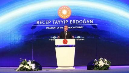 Cumhurbaşkanı Erdoğan TANAP açılışında konuştu