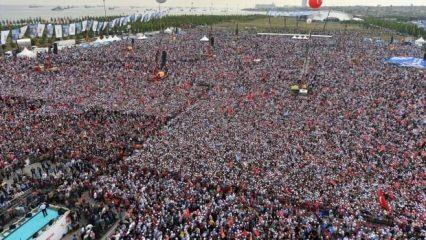 Erdoğan, Yenikapı'da müjdeleri peş peşe açıkladı!