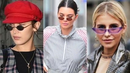 Trend alarmı: Mini güneş gözlüğü