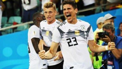 Almanlar 90+5'te hayata döndü!