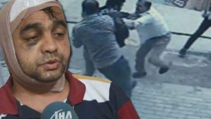 Ankara'da gazi ve kardeşine çirkin saldırı
