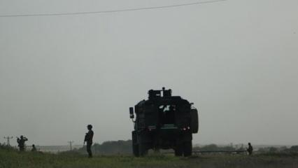 Askeri konvoya roketatarlı hain saldırı