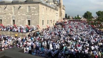 Balkanlıoğlu Hoca'yı on binler uğurladı