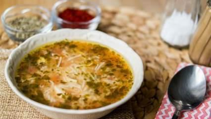 Kolay hasta çorbası tarifi