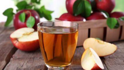Elmanın faydaları nelerdir? Elma suyuna tarçın koyup içerseniz...