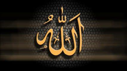Allah'ın 99 ismi ve Türkçe anlamları! Esmaül Hüsna...