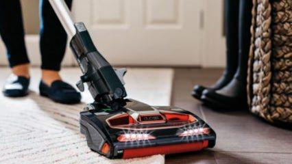 Dik süpürgeyle ev temizliği nasıl yapılır?