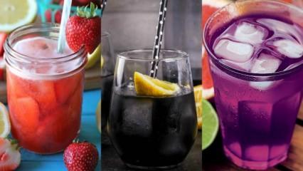 En farklı limonata tarifleri