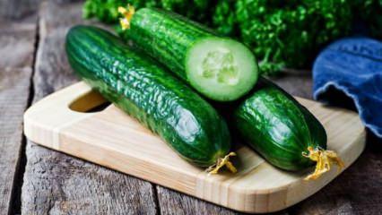1 hafta boyunca salatalık yerseniz ne olur?