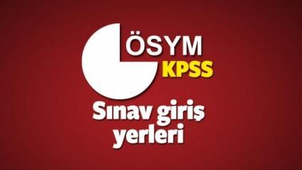2018 KPSS (Lisans) sınav yerini öğrenme sayfası! ÖSYM sınav giriş belgesi ekranı...