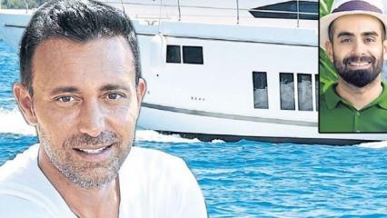 Mustafa Sandal ve Gökhan Türkmen'in tekne kazası geçirdi