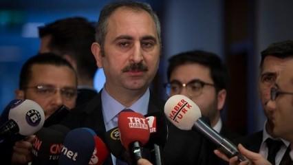Adalet Bakanı Gül'den yeni kabine açıklaması